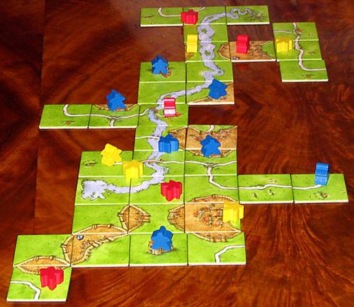 carcassonne basico, un juego divertido para jugar en familia