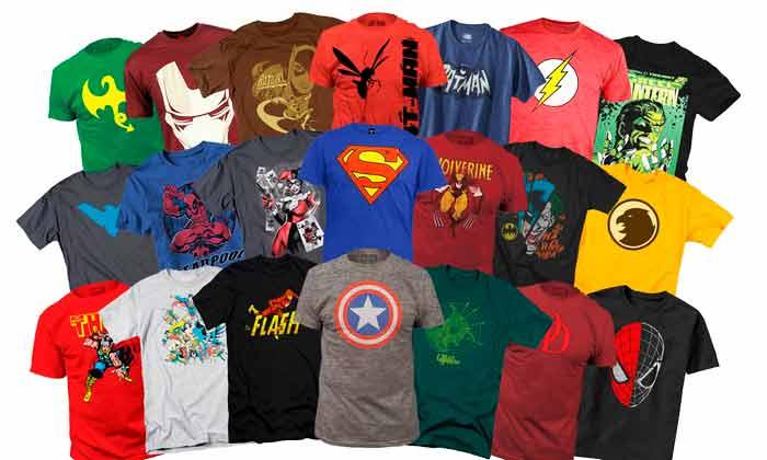 mejores camisetas frikis